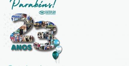 Abril é mês de comemorar 23 anos de história! Parabéns ORTOPLAN!